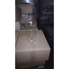Бутылка пластиковая 2л прозрачный + пробка (45 шт/упак)