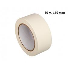 Скотч крепп малярный, бумажный, 30 м * 48 мм, 150 мкн (6 шт/упак)
