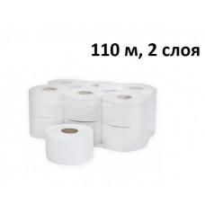 Туалетная бумага Терес Комфорт, 2 слоя, mini, 110 м, с внутренней вытяжкой, арт. Т-0043 (12 шт/упак)