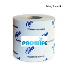 Туалетная бумага Терес Эконом плюс, 1 слой, 54 м (72 шт/упак)