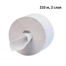 Туалетная бумага Терес Комфорт, 2 слоя, midi, 210 м, с внутренней вытяжкой, арт. Т-0083 (12 шт/упак)