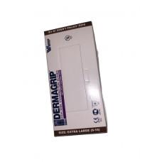 Перчатки латексные Dermagrip High Risk, 300 мм, S, сине-голубые,  (50 шт/упак), арт. DgHR-S-PS