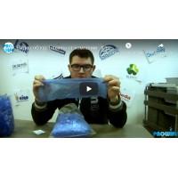 Видео-обзор: Бахилы от компании - Клевер.