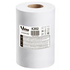Полотенца для рук в рулонах Veiro Professional Comfort, 160 м x 20 см, 2 слоя (6 шт/упак), арт. 202 K