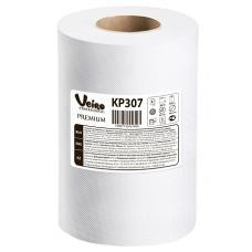 Полотенца для рук в рулонах с центральной вытяжкой Veiro Professional Premium, 180 м, 800 листов, 20 x 25 см, 2 слоя (6 шт/упак), арт. 307 KP