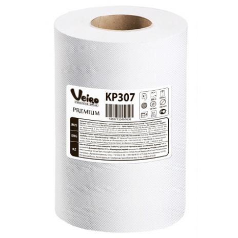 Полотенца для рук в рулонах с центральной вытяжкой Veiro Professional Premium, 180 м, 800 листов, 20 x 25 см, 2 слоя (6 шт/упак), арт. 307 KP, Veiro Professional