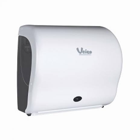 Сенсорный диспенсер для бумажных полотенец в рулонах Veiro Professional А2, 30 х 30,9 х 21,5 см, арт. 6212-411    , Veiro Professional