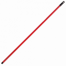 Черенок для уборочного инвентаря 120 см, еврорезьба, металлопластик 0,3 мм, ЛАЙМА СТАНДАРТ, 605238
