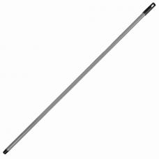 Черенок для уборочного инвентаря 130 см, еврорезьба, металлопластик 0,35 мм, усиленный, ЛАЙМА EXPERT, 605239
