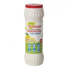Чистящее средство 400 г, ПЕМОКСОЛЬ 'Лимон. Сода-эффект', порошок, ЛЮБАША, 605376