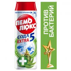 Чистящее средство, 480 г, ПЕМОЛЮКС Сода-5, 'Антибактериальный', порошок, 2415895