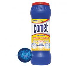 Чистящее средство дезинфицирующее 475 г, COMET (Комет) 'Лимон', порошок