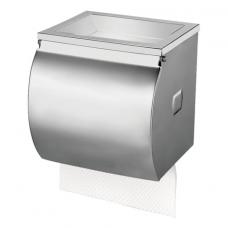 Диспенсер для туалетной бумаги KSITEX (Система Т4), в стандартных рулонах, нержавеющая сталь, матовый, ТН-335А