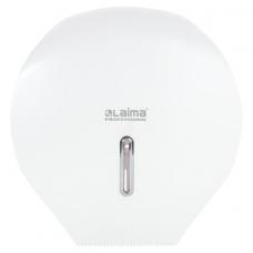 Диспенсер для туалетной бумаги LAIMA PROFESSIONAL ECONOMY (Система T2), малый, белый, ABS-пластик, 606682