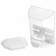 Диспенсер для жидкого мыла LAIMA PROFESSIONAL ORIGINAL, НАЛИВНОЙ, 0,5 л, прозрачный, пластик, 605772, ЛАЙМА