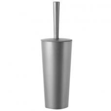 Ерш для унитаза с подставкой (высокий стан), закрытый, 'Стар', серебристый, IDEA, М 5017