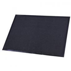 Коврик входной ворсовый влаго-грязезащитный, 60х80 см, толщина 7 мм, темно-серый, FLOORTEX, 600970, FC46080VALGR