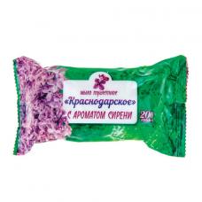 Мыло туалетное 200 г, Краснодарское, (Меридиан), 'Сирень'