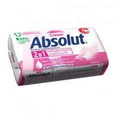 Мыло туалетное антибактериальное 90 г ABSOLUT (Абсолют) 'Нежное', не содержит триклозан, 6058, 6001,6058