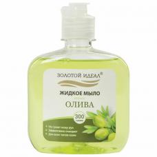 Мыло жидкое 300 г ЗОЛОТОЙ ИДЕАЛ 'Олива', флип топ, 606776
