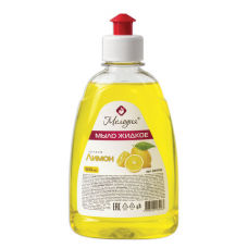 Мыло жидкое 300 мл, МЕЛОДИЯ 'Лимон', пуш-пул, 604783