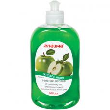 Мыло жидкое 500 мл, ЛАЙМА 'Зеленое яблоко', пуш-пул, 603098