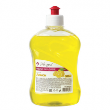 Мыло жидкое 500 мл, МЕЛОДИЯ 'Лимон', пуш-пул, 604785