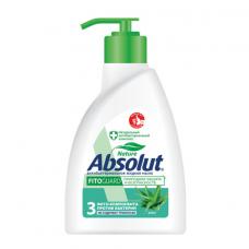 Мыло жидкое антибактериальное 250 мл ABSOLUT (Абсолют) 'Алоэ', дозатор, не содержит триклозан, 5064, 5009, 5064