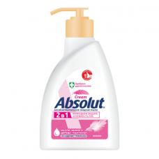 Мыло жидкое антибактериальное 250 мл ABSOLUT (Абсолют) 'Нежное', дозатор, не содержит триклозан, 5061, 5007, 5061