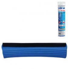 Насадка МОП для швабры самоотжимной роликовой 601466, PVA, 26 см, синяя, ЛАЙМА, 601484