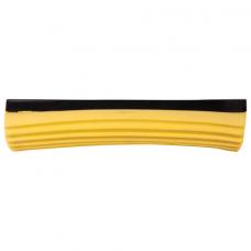 Насадка МОП для швабры самоотжимной роликовой, PVA 27 см, желтая, ЛАЙМА, 603599