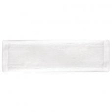 Насадка МОП плоская для швабры/держателя 40 см, уши/карманы (ТИП У/К), микрофибра, ЛАЙМА, 603122