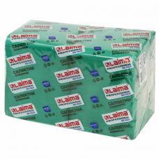 Салфетки бумажные 400 шт., 24х24 см, LAIMA, 'Big Pack', зеленые (интенсив), 100% целлюлоза, 111796