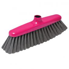 Щетка для уборки, ширина 29 см, щетина 7 см, пластик, крепление еврорезьба, YORK 'Elizabeth', 50110