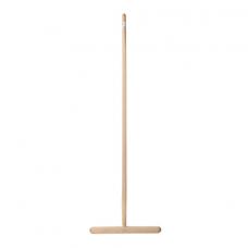 Швабра для пола деревянная, длина черенка 120 см, рабочая часть 32 см
