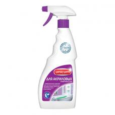 Средство для чистки ванн и душевых акриловых 500 мл, UNICUM (Уникум), спрей, 300087