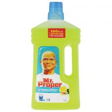 Средство для мытья пола и стен 1 л, MR. PROPER (Мистер Пропер) 'Лимон', 1008196