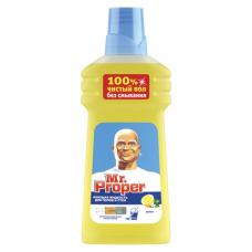 Средство для мытья пола и стен 500 мл, MR.PROPER (Мистер Пропер) 'Лимон'
