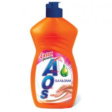 Средство для мытья посуды 450 мл, AOS 'Бальзам', 1110-3