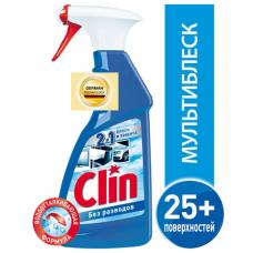 Средство для мытья стекол и поверхностей 500 мл, CLIN (Клин) 'Мультиблеск', распылитель, 2295472