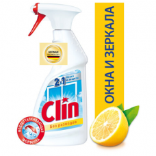 Средство для мытья стекол и зеркал 500 мл, CLIN (Клин) 'Лимон', распылитель, 2294288