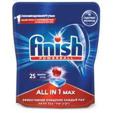Таблетки для посудомоечных машин 25 шт. FINISH 'All in 1', 3025693