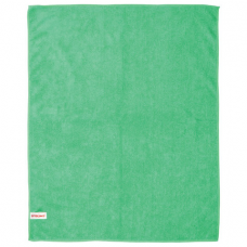 Тряпка для мытья пола из микрофибры, СУПЕР ПЛОТНАЯ, 50х60 см, зеленая, ЛАЙМА, 601251