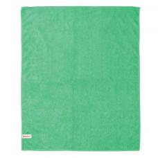 Тряпка для мытья пола из микрофибры, СУПЕР ПЛОТНАЯ, 70х80 см, зелёная, ЛАЙМА, 603931