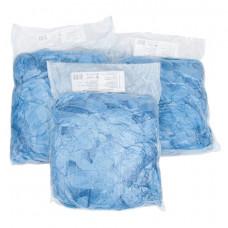 Бахилы КОМПЛЕКТ 100 шт. (50 пар) в упаковке, СТАНДАРТ, размер 39х14 см, 20 мкм, 3 г, ПНД, ЛАЙМА, 104979