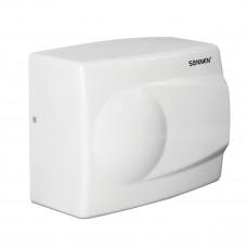 Сушилка для рук SONNEN HD-298, 1500 Вт, металлический корпус, антивандальная, белая, 604193