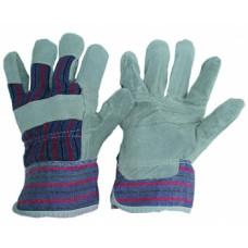 Перчатки спилковые рабочие, арт. 115