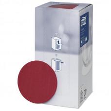 Салфетки бумажные Tork 8-слойные, бордовые,  250 шт/ уп. арт. 474469