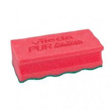 Губка ПурАктив, красный 10 шт/уп, арт. 123116