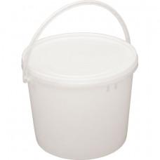 Ведро пластик 1,0 л + кр h 127 D 129 РР, ука (100 шт/упак)